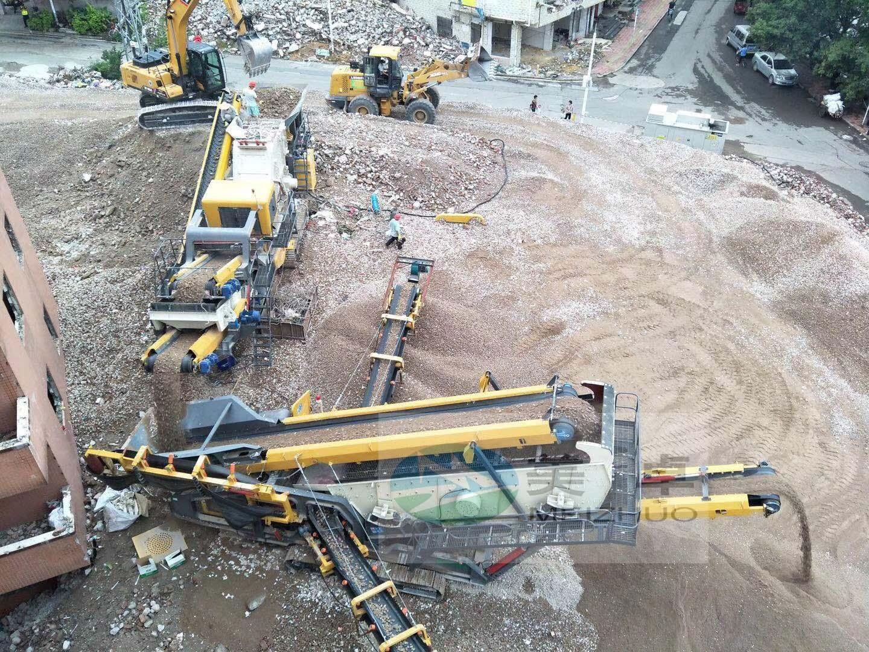 建筑垃圾移动移动站